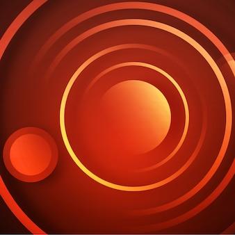 Mehrfarbiger Kreis Hintergrund Design