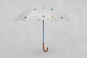 Multicolor Regenschirm Mock up