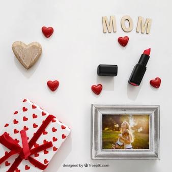 Mütter Tag Elemente