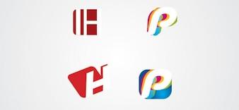 P und h logo Briefe