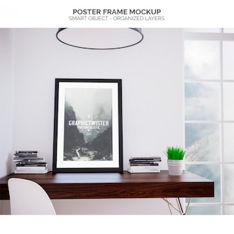 Plakatrahmen Mock-up