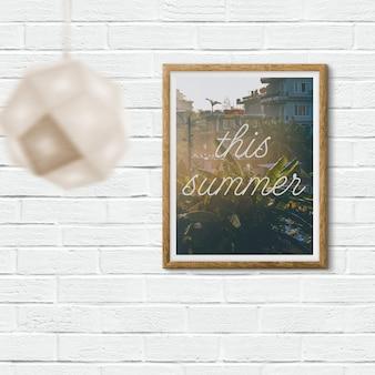 Poster mock up Design