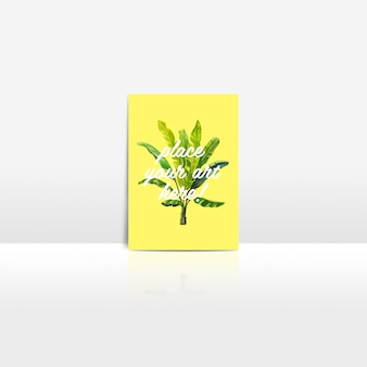 Postkarte mock up Design