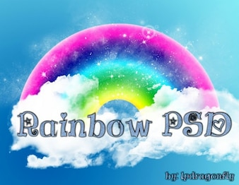 Regenbogen psd