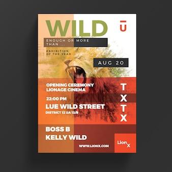 Wildes Leben Flyer
