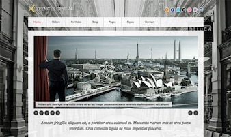 Zeences Licht - html template