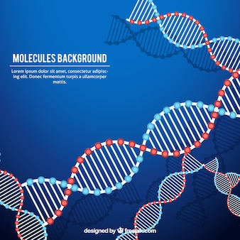 Abstract background dna