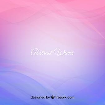 Abstrait arrière-plan ondulé en tons bleu et violet