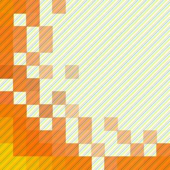 Abstrait mosaïque moderne colorée abstraite