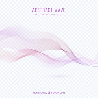 Abstrait Rose Wave Backgroung