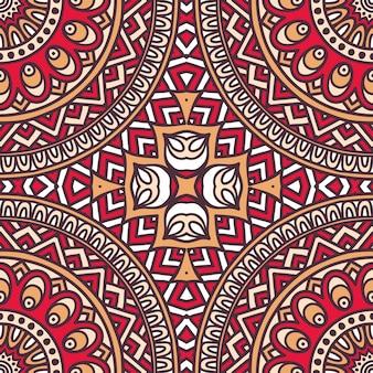 Abstrait, vecteur, tribal, ethnique, fond, seamless, modèle