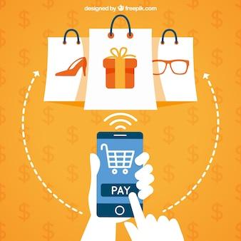 Acheter avec un mobile