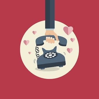 Affiche de Saint Valentin