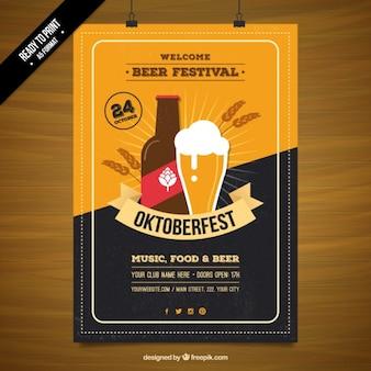 Affiche du festival de la bière