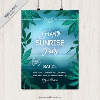 affiche du parti Sunrise