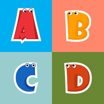 Alphabet de bande dessinée