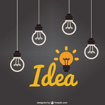 Ampoule idée lumière