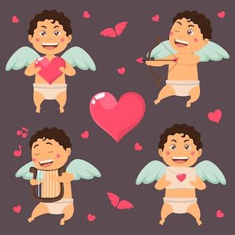 Anges de la collection de la Saint-Valentin