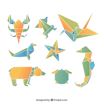 origami animaux vecteurs et photos gratuites. Black Bedroom Furniture Sets. Home Design Ideas