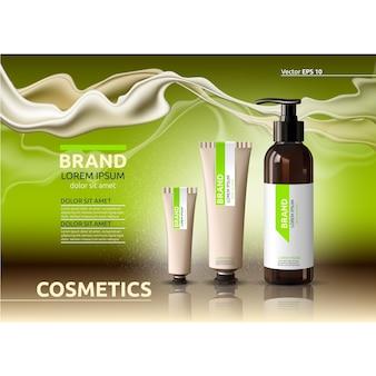 Annonce d'éléments cosmétiques