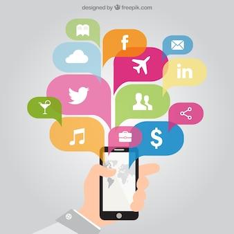 Applications de téléphonie mobile
