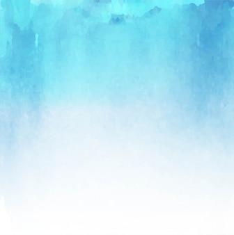 Aquarelle bleue