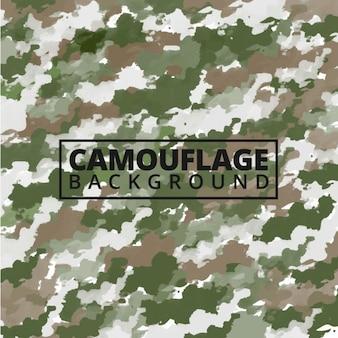 Aquarelle fond de camouflage