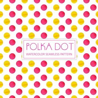 Aquarelle Polka Dot Background