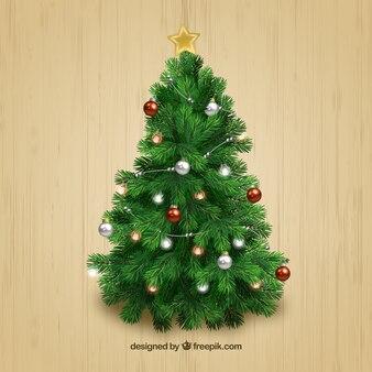 Arbre de Noël Réaliste