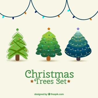 Arbres de Noël belle série
