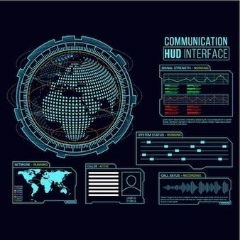 Arrière-plan de l'interface de communication