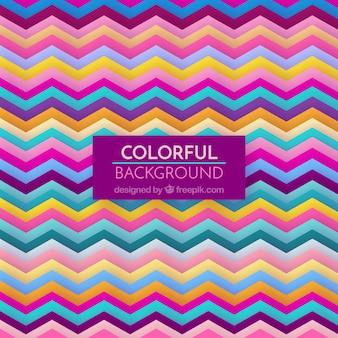 Arrière-plan de motif coloré