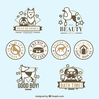 Badges de chiens