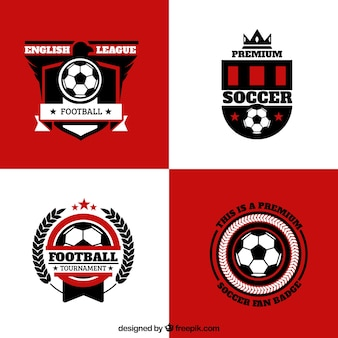 Badges de football anglais