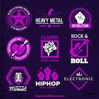 Badges de musique
