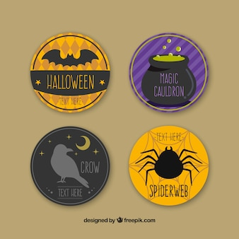 Badges Halloween