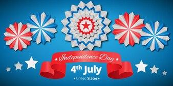 Bannière de l'Indépendance