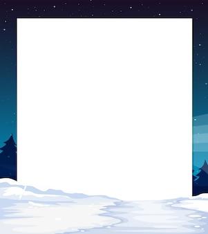 Bannière de vue de nuit