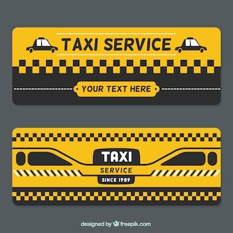bannières de taxi Résumé