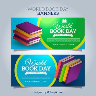 Bannières jour du livre