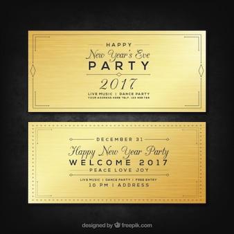 Bannières Nouvel An Parti 2017 pack