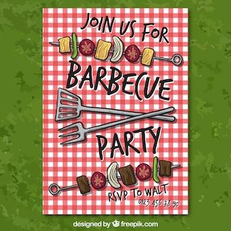 Barbecue invitation du parti