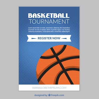 Basket-ball tournoi brochure