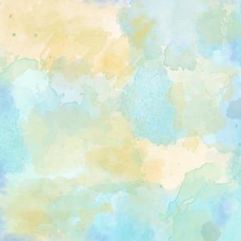 Beau fond d'aquarelle peint à la main