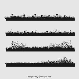 Beau jeu d'herbe