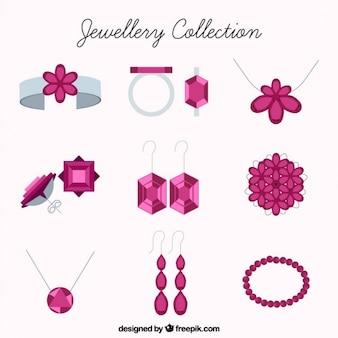 Bel ensemble de bijoux
