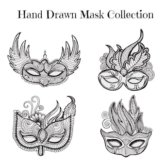 Belle collection de masques