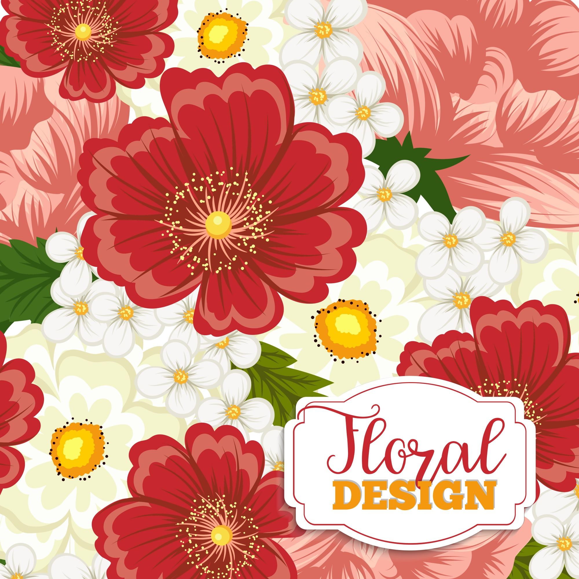 Belle illustration florale. Illustration vectorielle