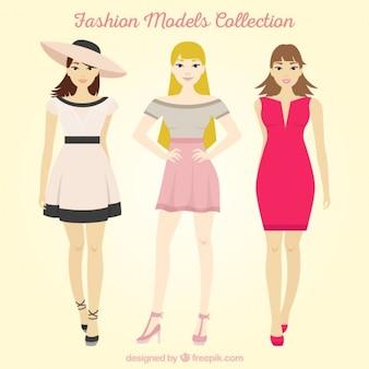 Belles femmes modèles