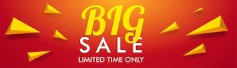 Big Sale Banner pour une période limitée.